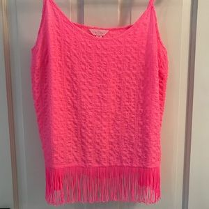 Lilly Pulitzer Neon Pink Tank Top - M